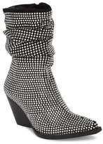 Jeffrey Campbell Controll Crystal Studded Slouch Boot