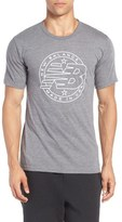 New Balance 'Emblem' Athletic Fit Graphic T-Shirt