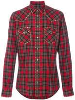 Dolce & Gabbana studded Western checked shirt