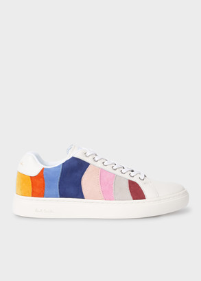 Women's Colour-Block Leather 'Lapin' Trainers