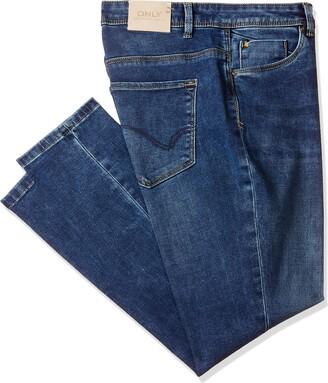 Only Women's ONLCARMEN REG SK ANK BB PIM3159 Jeans