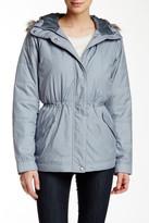 Columbia Faux Fur Trim Polar Plush Jacket
