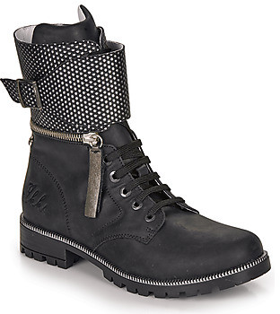 Ikks PEGGY girls's High Boots in Black