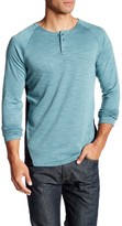 7 Diamonds Norva Long Sleeve Henley Shirt