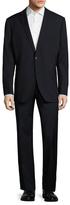 Saks Fifth Avenue Wool Solid Notch Lapel Suit