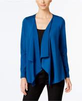 Thalia Sodi Lace-Up-Back Flyaway Cardigan, Only at Macy's