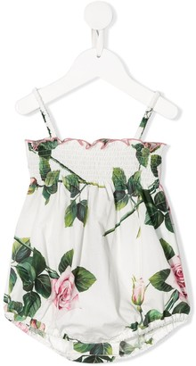 Dolce & Gabbana Floral Print Baby Body