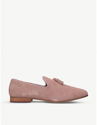 Selfridges Orvel suede tassel loafers