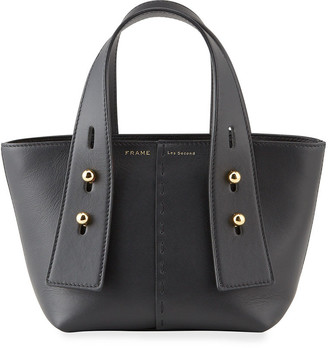 Frame Les Second Mini Leather Tote Bag