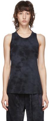 Raquel Allegra Black Tie-Dye Tank Top