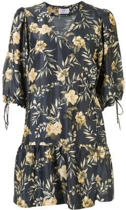 Sir. Carmen floral wrap dress