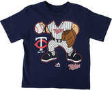 Majestic Toddler Boys' Minnesota Twins Pint-Sized Pitcher T-Shirt
