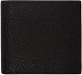 Thom Browne Black Leather Bifold Wallet
