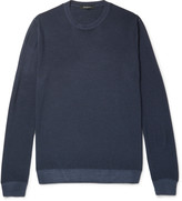 Ermenegildo Zegna Wool and Silk-Blend Sweater