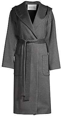 Michelle Waugh Women's The Piper Cashmere Hooded Wrap Coat