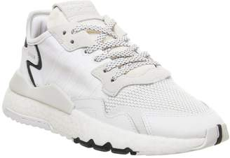 adidas Nite Jogger Boost Trainers Ftwr White Crystal White