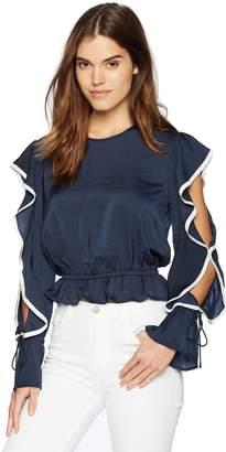 The Fifth Label Women's Juliette Ruffle Long Sleeve Top