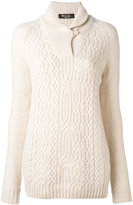 Loro Piana cable knit jumper