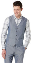 Perry Ellis Sharkskin 5 Button Suit Vest