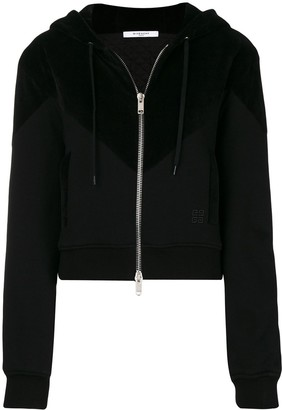 Givenchy classic zipped hoodie