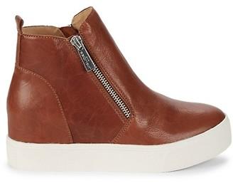 J/Slides Sky Leather Booties