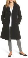 Kate Spade Women's Twill Fit & Flare Coat