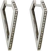 Eva Fehren Women's Dagger Hoop Earrings-GOLD