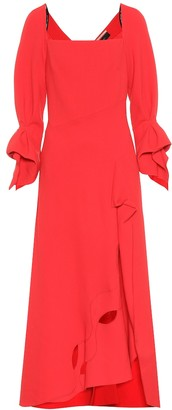 Roland Mouret Trinity wool-crepe dress