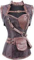 Imilan Gothic Steampunk Bodysuits Corsets Vests Bustiers Sets