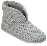 dluxe by dearfoams Women's dluxe by dearfoams® Tiara Bootie Slippers