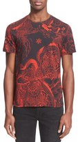 Just Cavalli Men's 'Rock Romance' Print T-Shirt