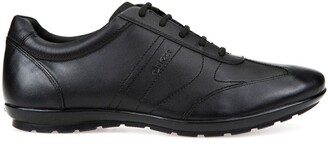 Geox Symbol Breathable Leather Trainers