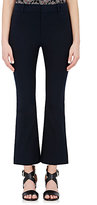 Derek Lam 10 Crosby Women's Crop Flared Pants-NAVY