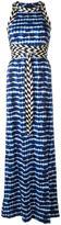 Tory Burch tie dye maxi dress - women - Cotton/Polyamide/Spandex/Elastane/Viscose - S