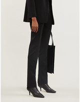 Joseph Zoran comfort wool-blend trousers