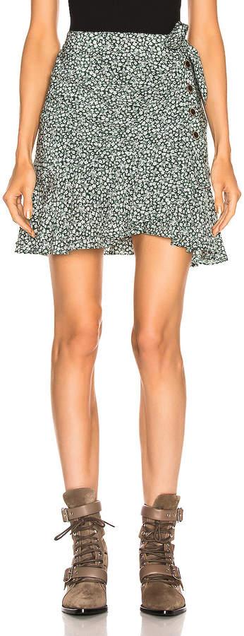 Veronica Beard Kaia Skirt in Forest Green | FWRD