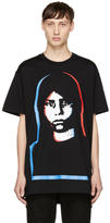 Givenchy Black Abstract Girl T-Shirt