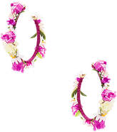 Mercedes Salazar Jardin Lilas Earrings in Purple.