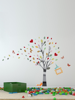 Colourful Photo Tree Wall Sticker