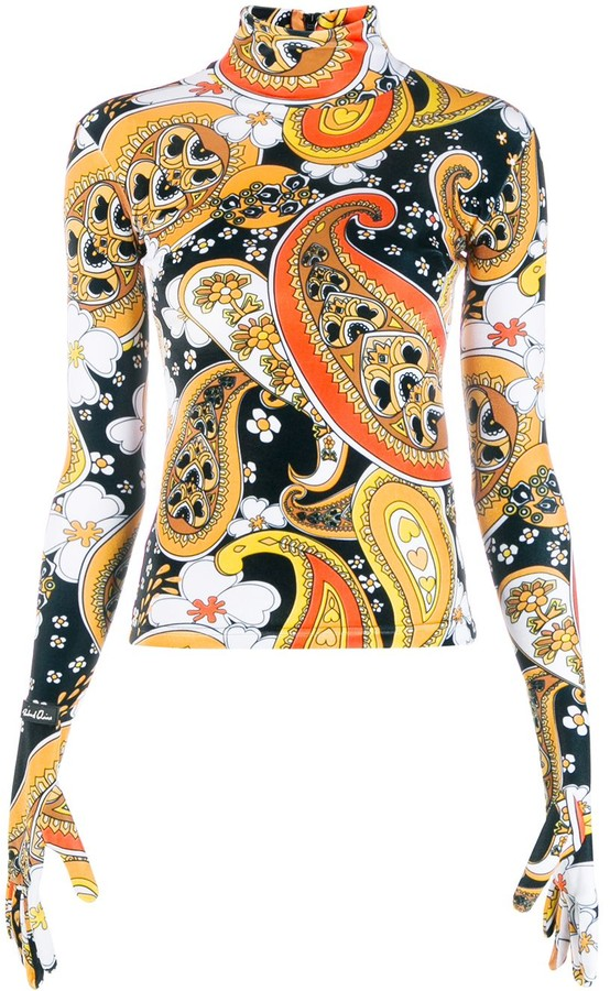 Richard Quinn Paisley Print Sweater