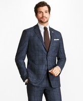 Brooks Brothers Regent Fit BrooksCloud Windowpane 1818 Suit