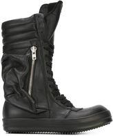 Rick Owens sneaker boots - men - Leather/rubber - 39