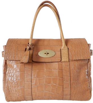Mulberry Bayswater tote Camel Leather Handbags