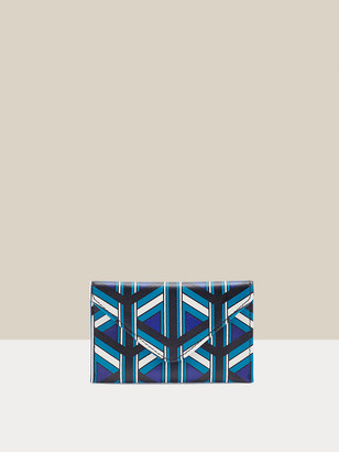 Diane von Furstenberg Isabella Leather Envelope Wallet