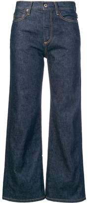 Simon Miller cropped wide-leg jeans