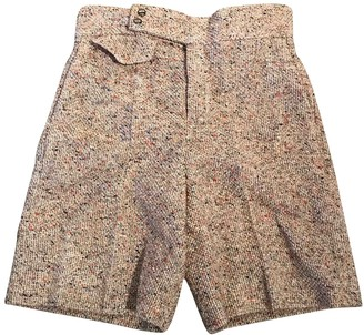 Chloé Ecru Wool Shorts for Women