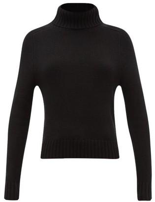 Nili Lotan Atwood Roll-neck Cashmere Sweater - Womens - Black