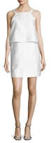 Carven Mmikado Overlay Bodice Dress