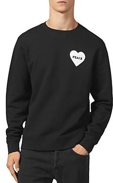 Sandro Peace Crewneck Sweatshirt