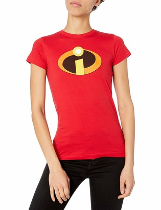 Disney Women's The Incredibles Logo Graphic T-Shirt
